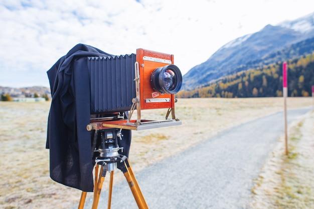Фотопленка deardorff среднего формата, готовая к съемке