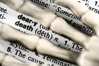 Death finition  gray