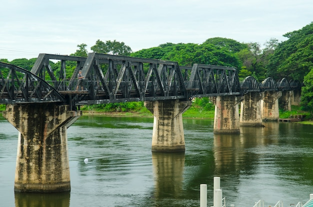 Death railway, built during world war ii,kanchanaburi thailand