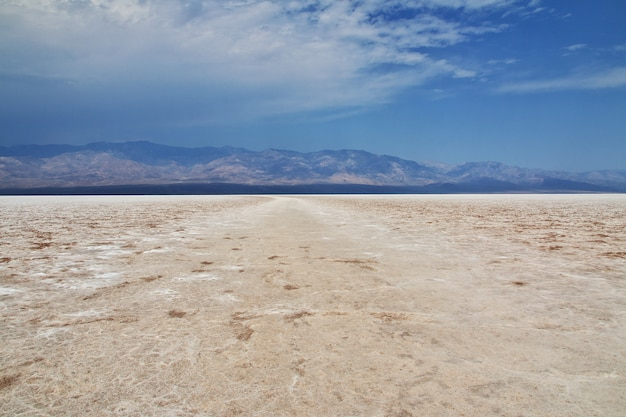 Death valley in california
