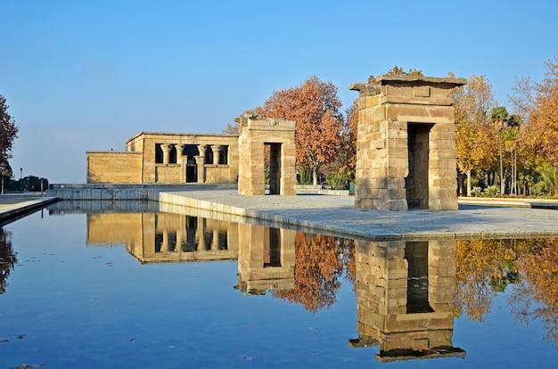 Храм дебод, мадрид, испания