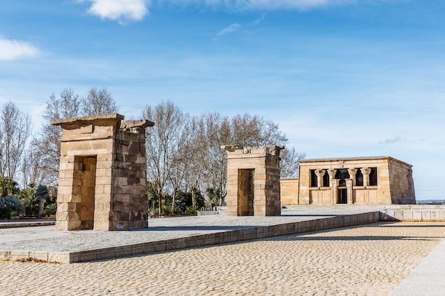 マドリードのdebod神殿