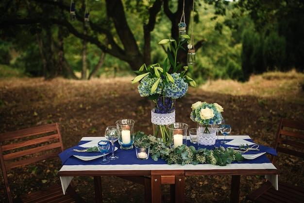 インテリア詳細結婚式の装飾