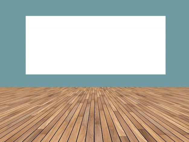 Decorazione vuota tabella bianco modello residenziale