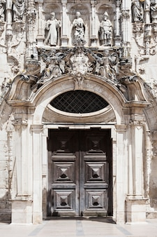 ポルトガル、コインブラのサンタクルス修道院の装飾
