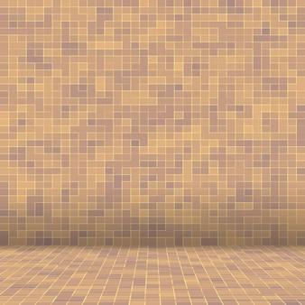 장식 화려한 유리 모자이크 예술과 추상 벽입니다.