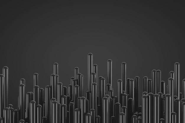 Decorative abstract futuristic background in dark colors