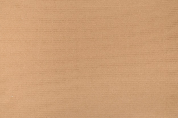 Decorative background of brown cardboard