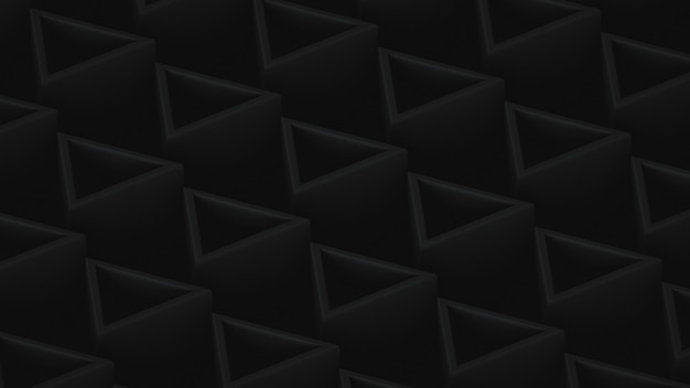Decorative background in dark colors with triangular shapes
