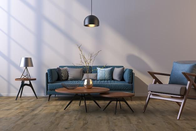 가정, 사무실 및 호텔 장식 배경. 거실과 벽 질감의 현대적인 인테리어 디자인