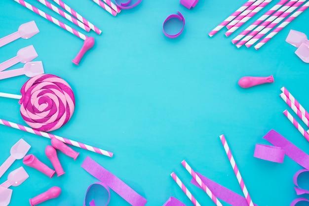 Decorative birthday concept