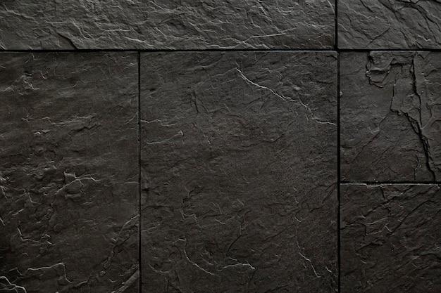 装飾的な黒い石のコーティング