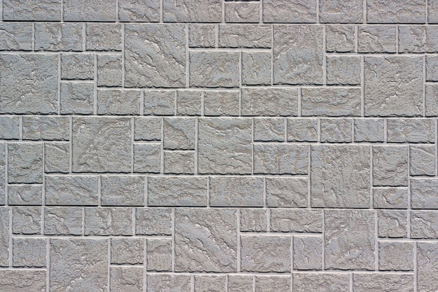 Decorative brick wall as a background or texture.