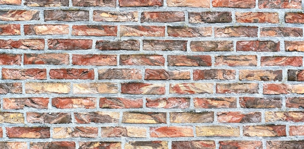 Decorative bricks on the house wall.texture background.