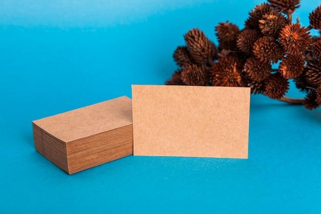 Макет карточной визитной карточки Бесплатные Фотографии