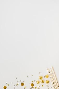 Coriandoli e bacchette decorative
