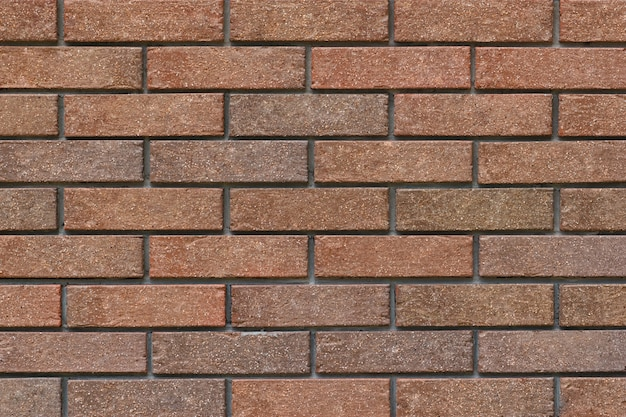 Decorative facing or covering brick wall fence background
