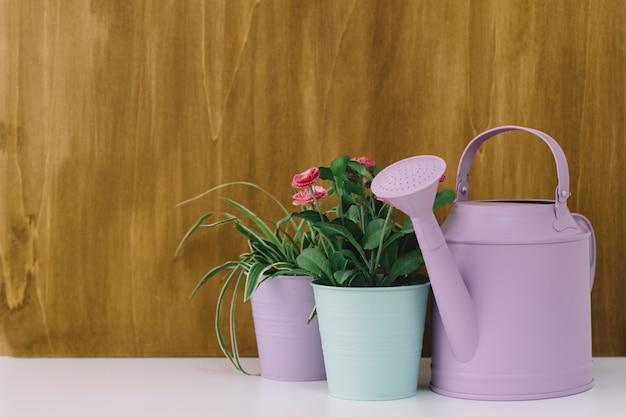 Decorative flower composition