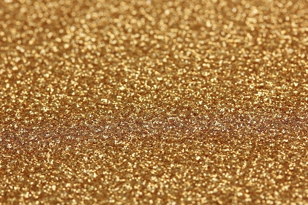きらめく装飾的な金の表面