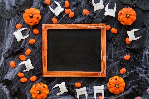 Decorative halloween slate decoration