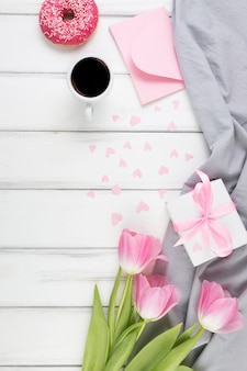 Decorative mothers day background