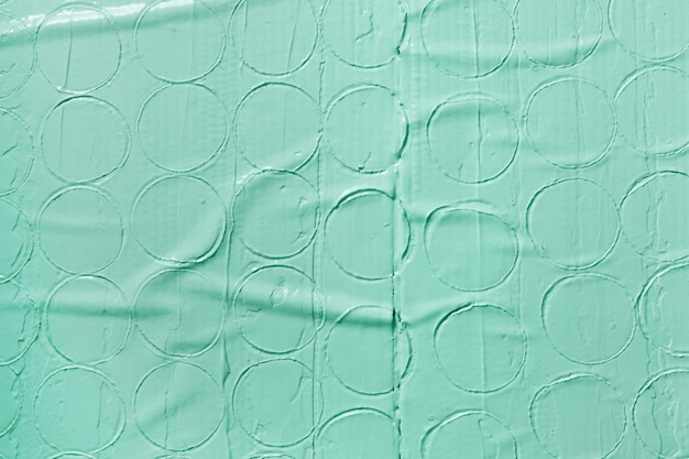 라운드 패턴, 여유 공간 장식 파스텔 녹색 배경. 젖은 석고 질감, 치장 용 벽토 디자인, 수리 개념