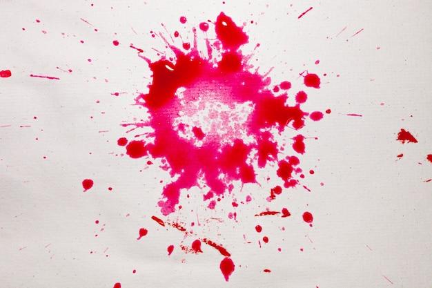 装飾的なピンクの水彩染色