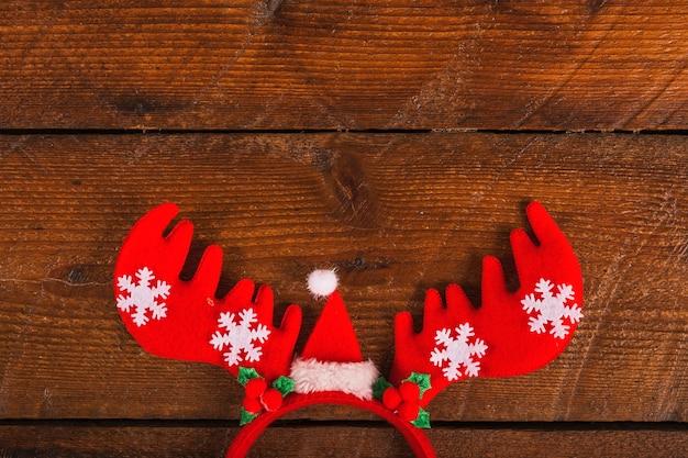 Decorative reindeer antlers headband