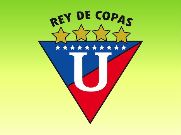 Decorative rey de copas logo vector