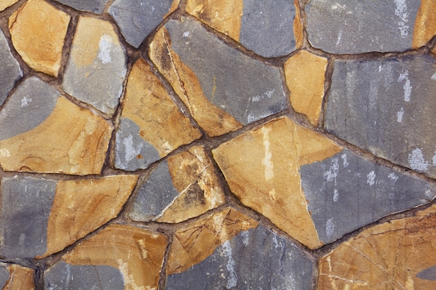 Decorative texture with colored stones