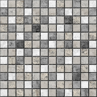 Decorative tiles with natural stone texture. mosaic. element for interior design. background texture