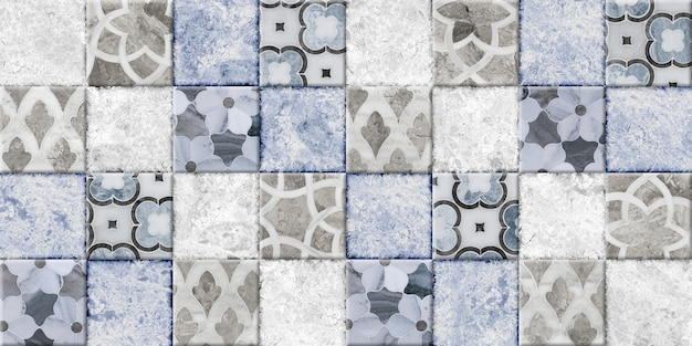 Decorative tiles with patterns and texture of natural stone. background texture. element for interior design