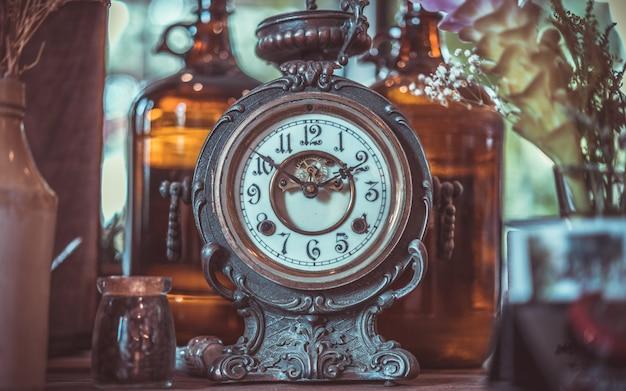 Decorative vintage clock