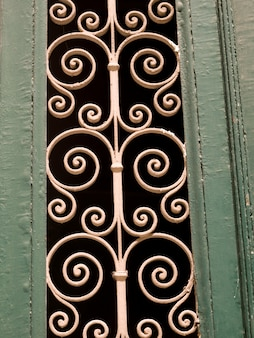 Decorative wrought iron in athens greece