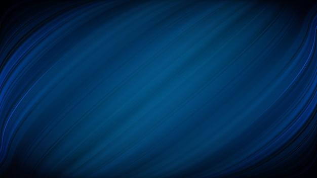 柔らかい縞模様の深い青色の抽象的な背景