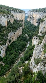 Deep fluvial gorge of arbayun