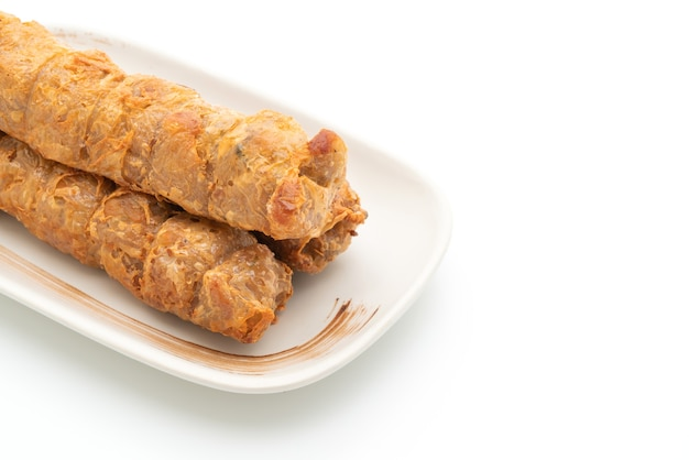Deep fried crab roll