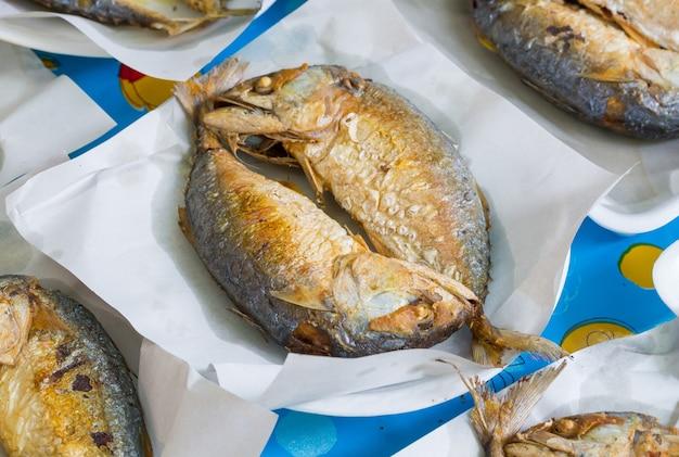 Deep fried thai mackerel