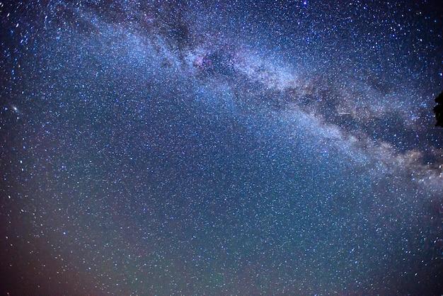 深い空の天体写真