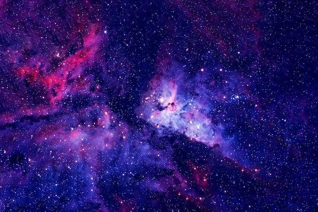 Глубокий космос, красивый космический фон. элементы этого изображения были предоставлены наса. для любых целей.