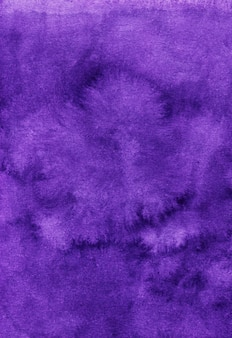 Deep violet watercolor surface background