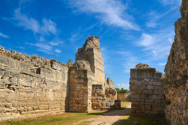 Defensive wall of the ancient city