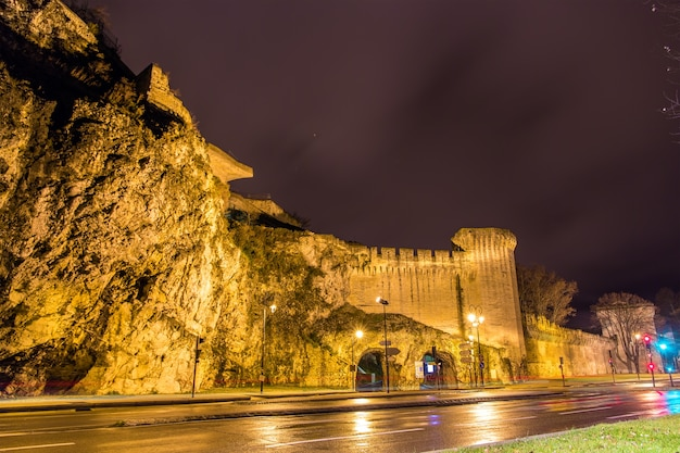 프랑스의 아비뇽 유네스코 유산 방어벽