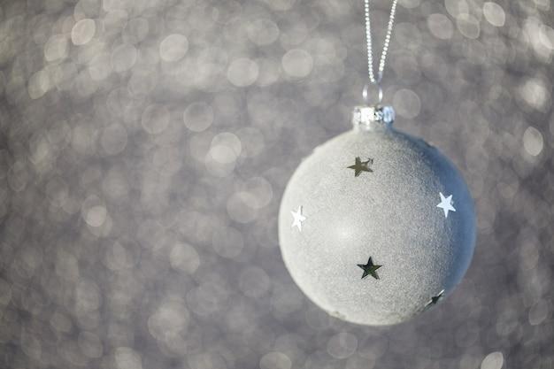 Расфокусированным абстрактный фон рождество