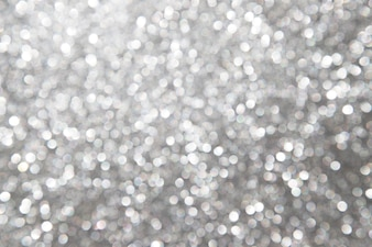 Defocused abstract silver background