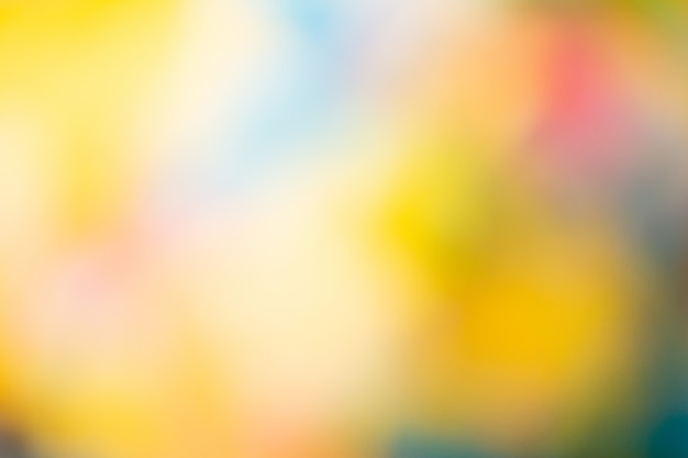 Defocused background with many colors