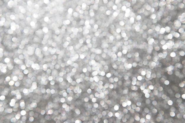 Defocused抽象的な銀の背景