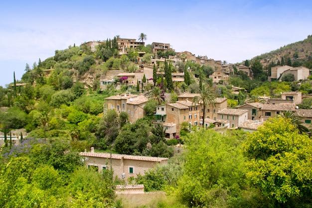Deia typical stone village in majorca tramuntana