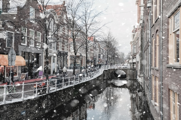 Delft netherlands residential district