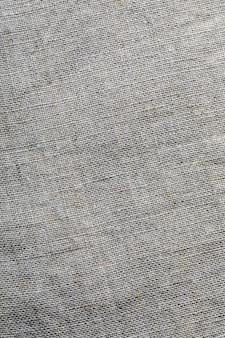 Нежная текстура льняной ткани. макро крупным планом. с местом для ваших текстов.
